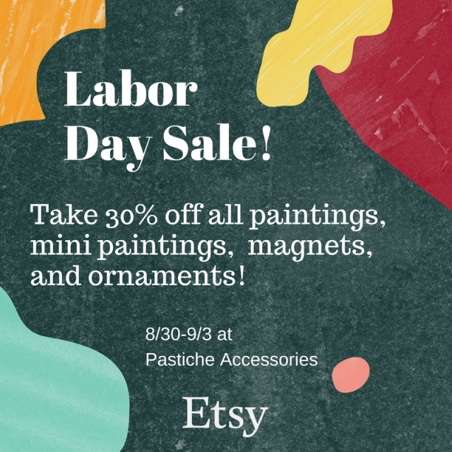 Labor Day Painting Sale Life Update Noelle Lewis Art